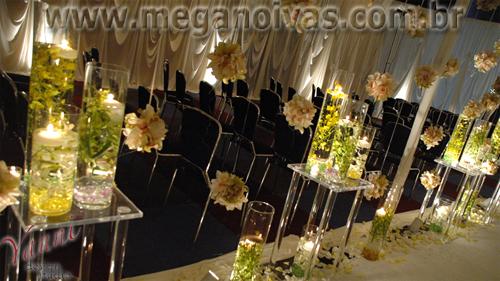 Mega Noivas » Decoração de Casamento com Velas