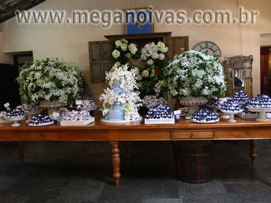 Mega Noivas » Decoração de Casamento Azul