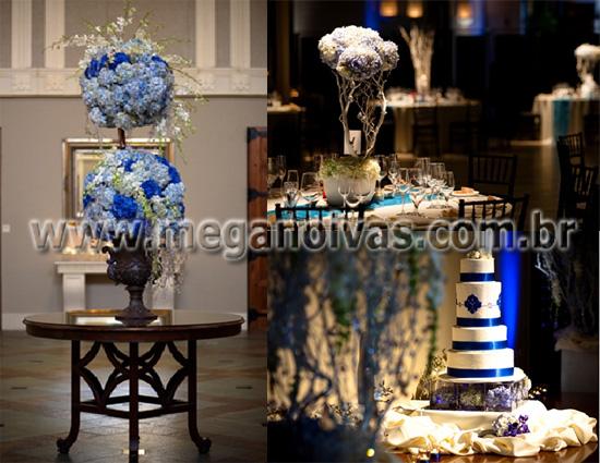 Decoracao De Casamento Azul 18jpg  Car Interior Design