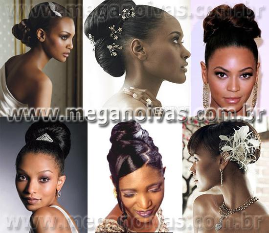 Penteados Para Noivas Negras Mega Noivas
