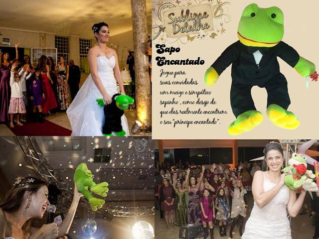 Buquê Sapo Príncipe para Casamento - foto de Paty as Avessas