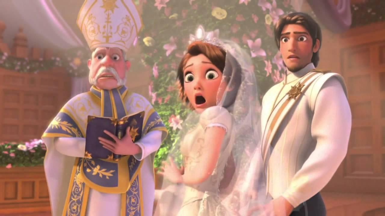 Casamento da Rapunzel e Flynn da Disney