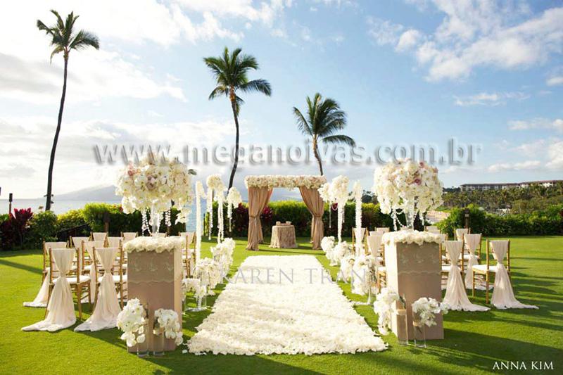 Excepcional Decoração para Casamento na Primavera – Mega Noivas QZ42